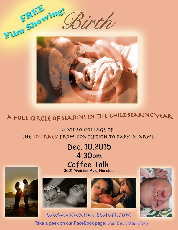 Free Film Showing flier coffee talk 12.10